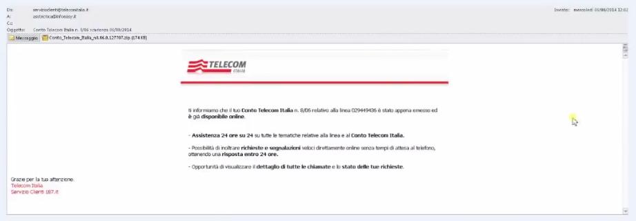 mail truffa 1